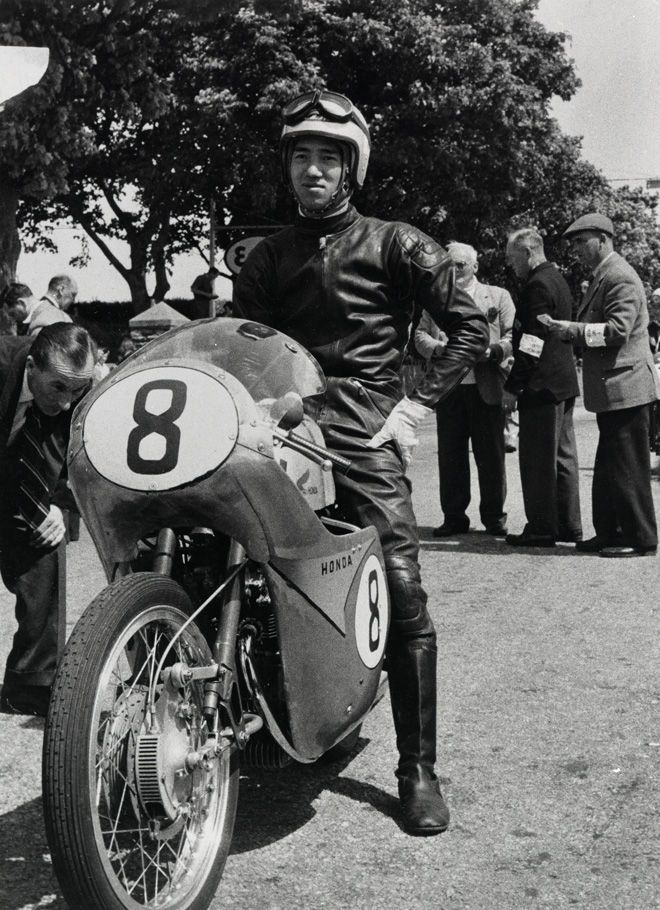 Naomi Taniguchi / RC142 (1959 The Isle of Man TT)