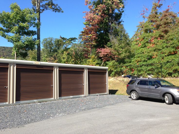 Prefabricated Storage Units By Miller.