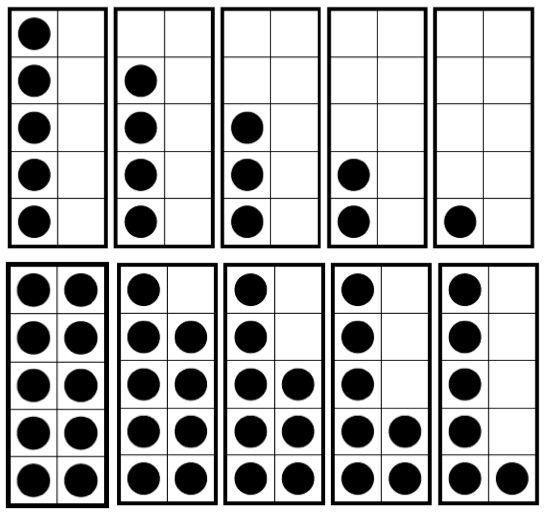 192 best Primary Math Ten Frames images on Pinterest Ten - ten frame template