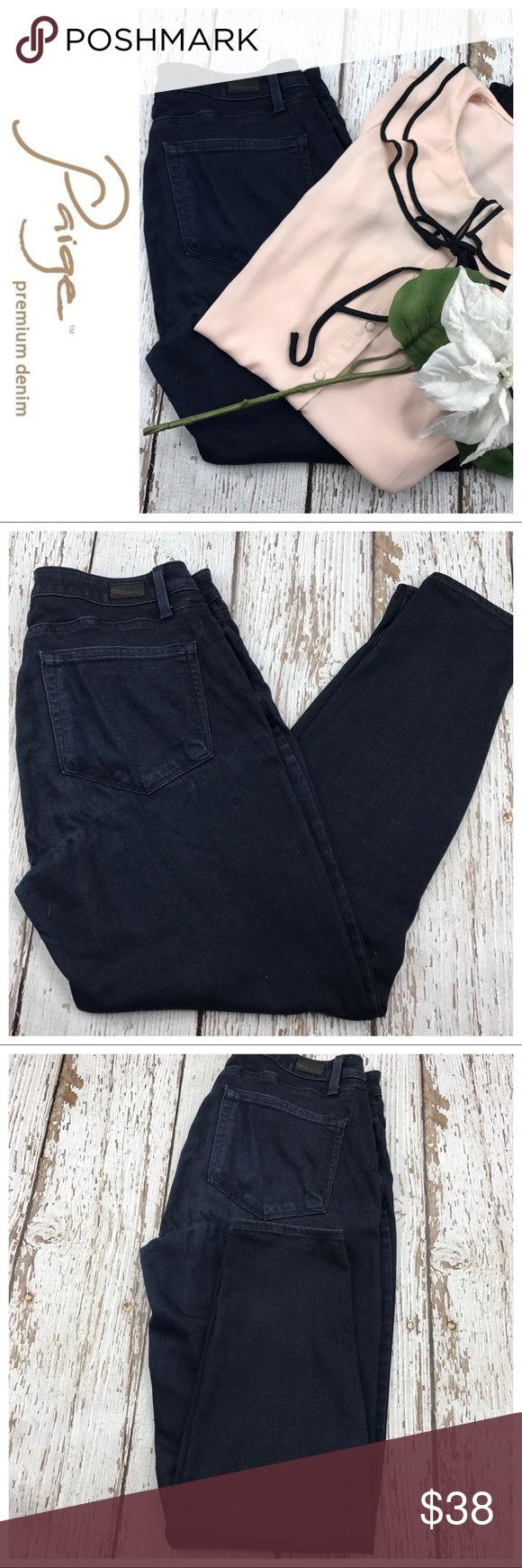 "💕SALE💕Paige Verdugo Ankle Premium Denim Jeans Fabulous 💕Paige Verdugo Ankle Premium Denim Jeans 27 1/2"" Inseam Perfect for Boots These Jeans are the Absolute most comfortable you'll ever have. They are super soft, stretch like a legging Paige Jeans Jeans"