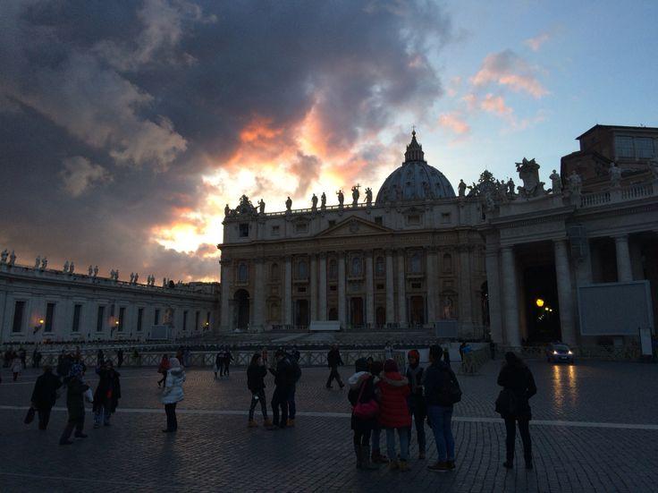 Cúpula de San Pedro. Ciudad del Vaticano, Italia.