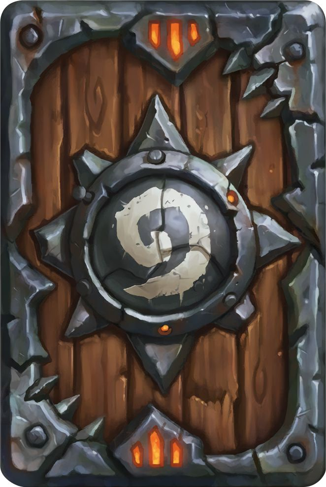 Card Back: Warlords Artist: Blizzard Entertainment