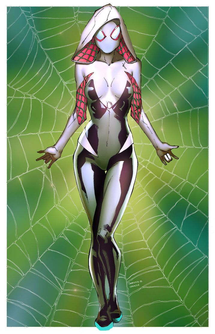 Spider Gwen by Mystic-Oracle & Chris Gevenois