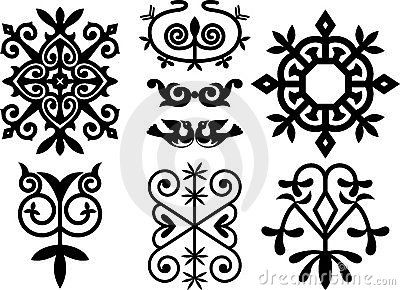 adygei | Elements of traditional adygei ornament , clip art optimized for ...