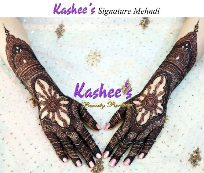 Kashee's signature mehndi
