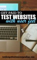 Get paid to do website usability testing with User Feel. This may be a way to earn extra cash online if you get accepted to do tests.