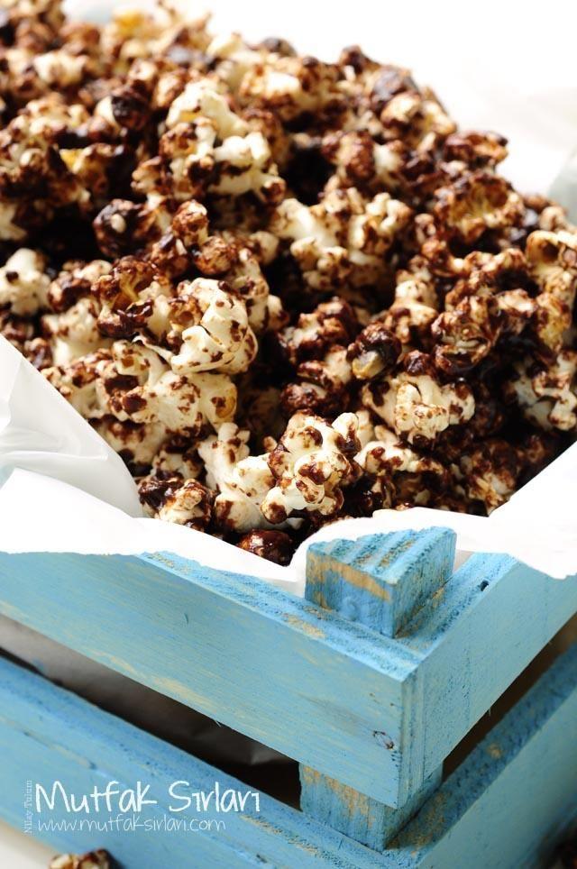 Çikolatalı Karamelli Patlamış Mısır Tarifi | Mutfak Sırları