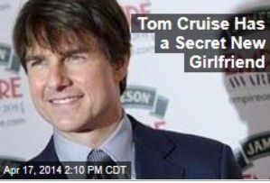 Latest News:  Tom Cruise Has a Secret New Girlfriend.  Sources say Tom Cruise has finally found a new partner, and this one could be a better match for him than Katie Holmes—because she's a Scientologist, too.  Get all the latest news on your favorite celebs at www.CelebrityDazzle.com!