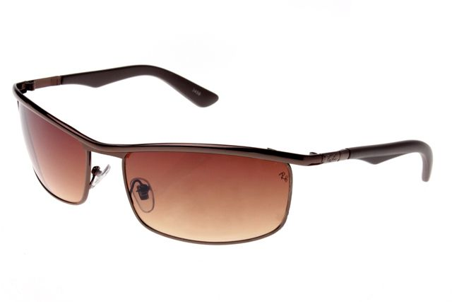 Ray Ban Active Lifestyle Solid RB3459 Brown Sunglasses