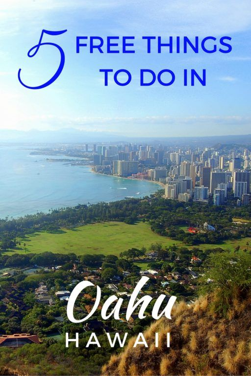 5 Free Things to do in Oahu, Hawaii, USA with kids #oahu #hawaii