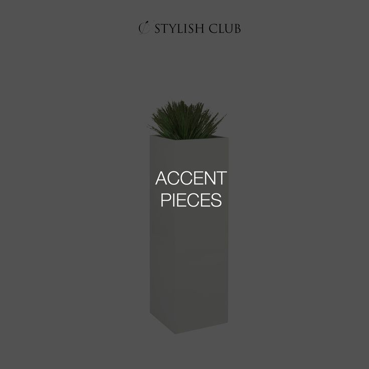 Accent pieces from Stylish Club can add an element of fun, surprise, and sophistication to liven up your space and brighten your day.