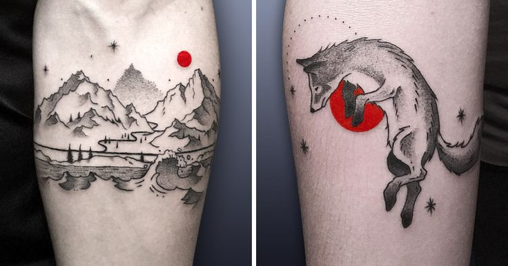 The Red Dot: I Quit My Boring Job To Become A Tattoo Artist, And Here's The Result | Bored Panda