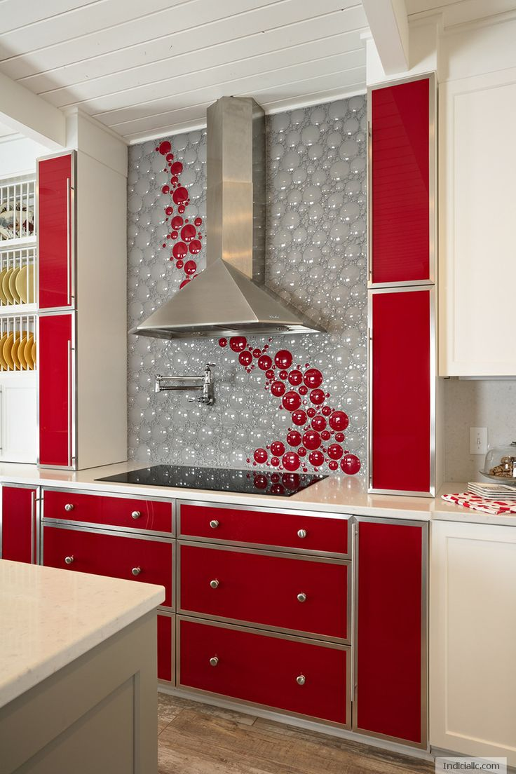 Kitchen Backsplash Red 17 Best Images About Kitchen Backsplash On Pinterest