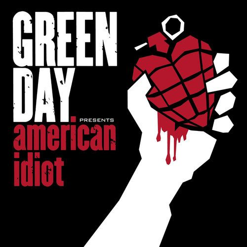 Best Album Covers, Art | Greatest of All Time| Billboard - Like the album itself, the art for 2004's American Idiot is hardly subtle. A heart-shaped hand grenade, bleeding and designed to mimic Communist propaganda, was an integral part of Green Day's angsty tribute to the nation's post-9/11 political turmoil.