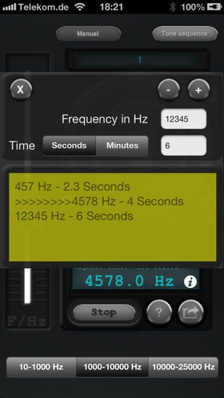 Tone generator by michael heinz