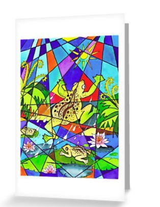 birds, nature, flowers, rain forrest, greeting cards, colourful, patterns, birthday, gifts, frogs, ponds   http://www.redbubble.com/people/rednib