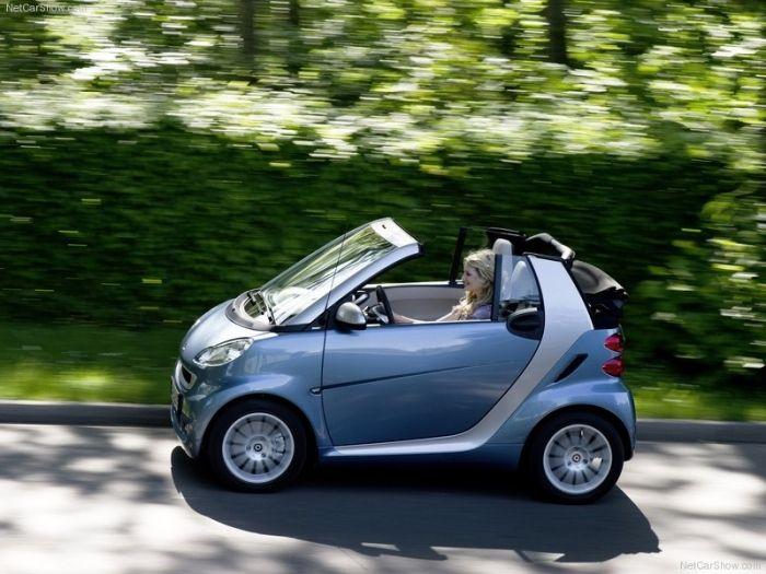 Small Car Doors : Smart car convertible small