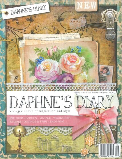 """Daphne's Diary - """"a magazine full of style and inspiration"""" - very unique! Purchased my copy in Dallas at Barnes and Noble."""