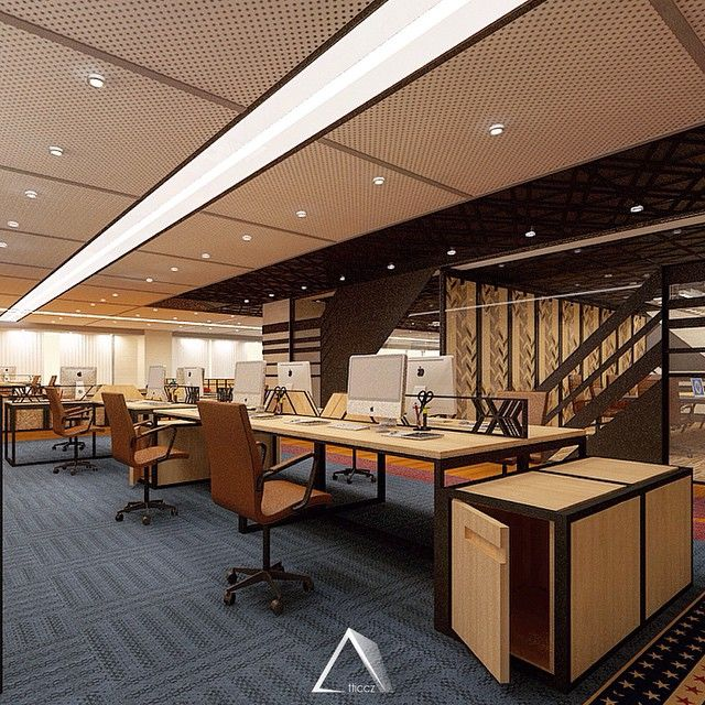 Workspace - American Center #office #design
