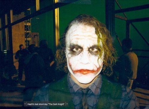 The Heath Ledger Behind-the-scenes Edition Of 'The Dark Knight #joker