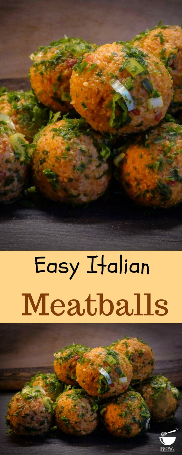 Delicious meatballs are easy to make. Just 3 simple steps Mix it, Bake it and Serve it. - Bachelor Recipe.  #meat #contest #recipe #nonveg #easy #food #BachelorRecipe #bakedish