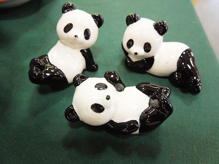 パンダのお箸置き