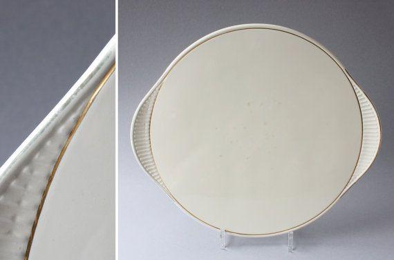 kuchenplatte vintage : Alte Kuchenplatte Tortenplatte Keramik vintage von wohnraumformer