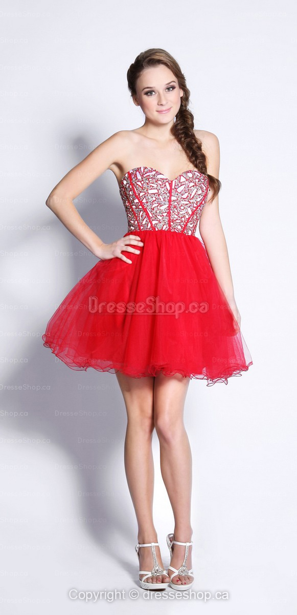 Mini Red ParyDress