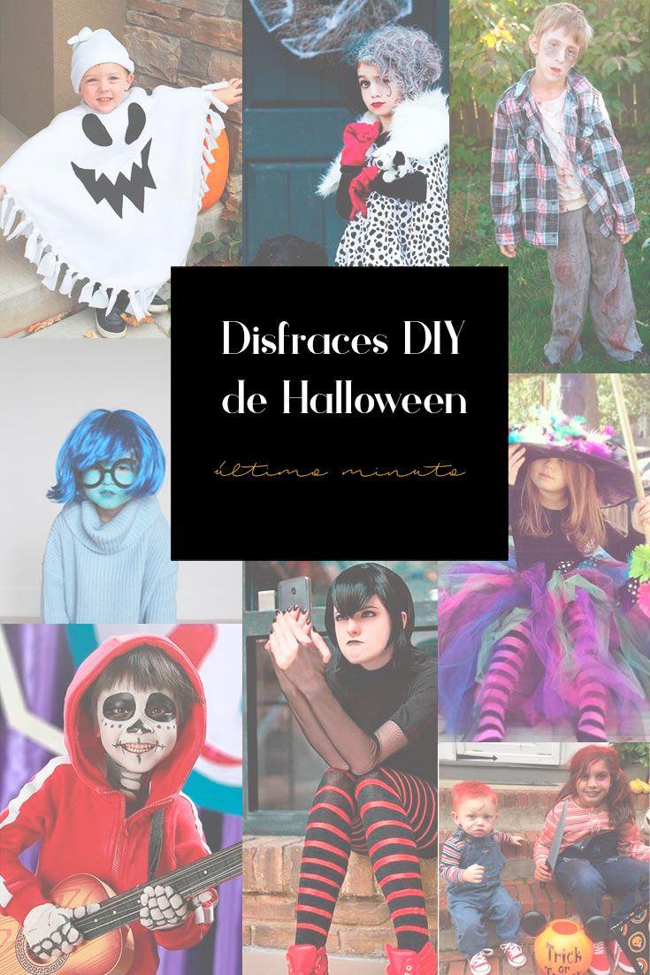 Disfraces de Halloween para niños y niñas caseros, rápidos y fáciles en 2020 - Disfraces de ...