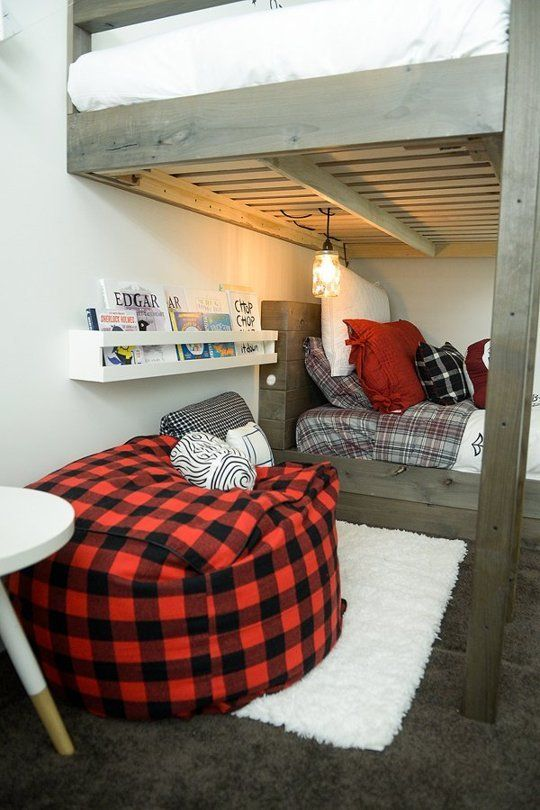 Oliver & Leo's Little Lumbermen Room