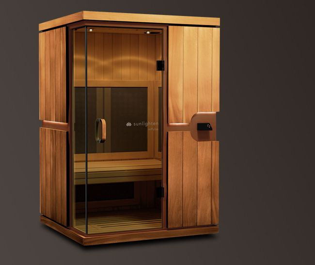far infrared sauna great addition to spa room add on so sound and chromotherapy lighting. Black Bedroom Furniture Sets. Home Design Ideas