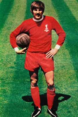 Football Photo STEVE HEIGHWAY Liverpool 1970s | www.classicfootballshirts.co.uk