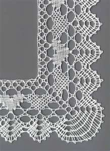 Among lots of Yahoo lace images: torchon bobbin lace - includes honeycomb, half stitch and whole/cloth stitch.