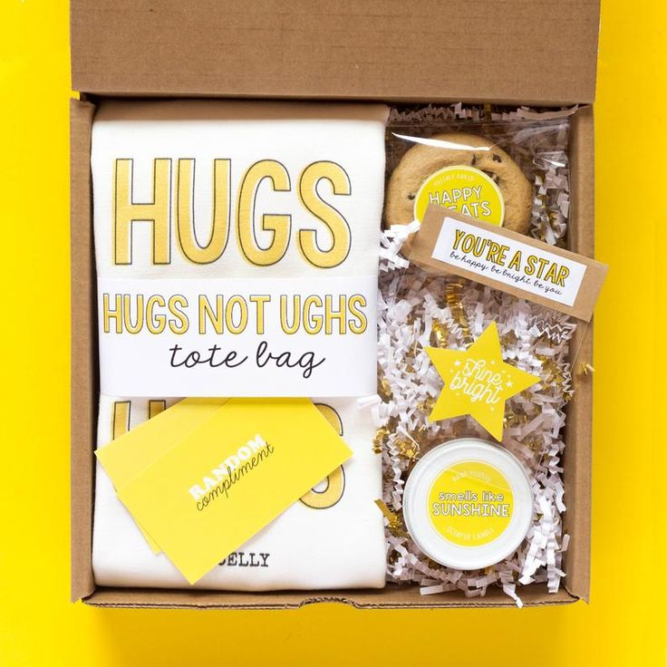 Cheer up gift box thinking of you gift encouragement