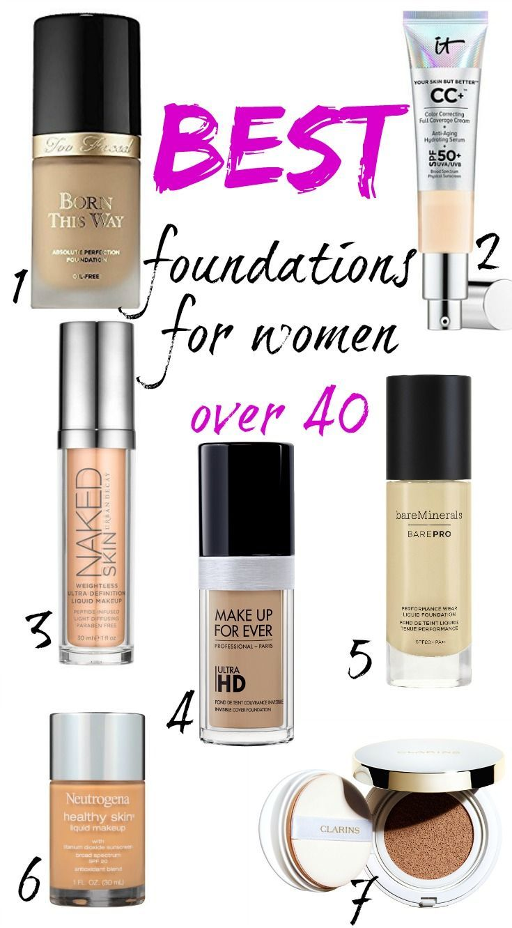 Best Foundations For Women Over 40 Anti Aging Skin Products Anti Aging Skin Care Aging Skin Care