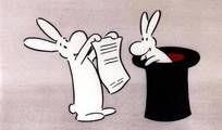 Bob a Bobek - králici z klobouku.