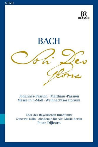 Bach: Soli Deo Gloria - Johannes-Passion; Matthäus-Passion; Messe in h-Moll; Weihnachtsoratorium [Video] [DVD]