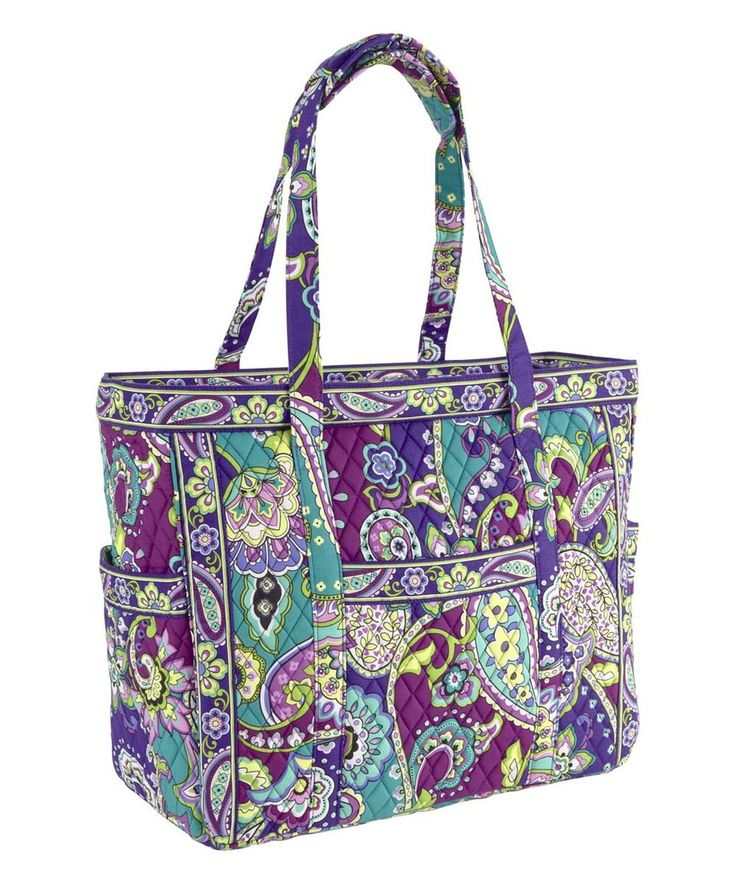This Heather Get Carried Away Tote by Vera Bradley is perfect! #zulilyfinds