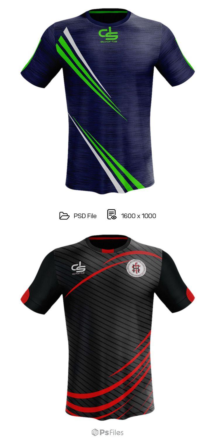 Download Soccer Jersey Mockup PSD | Desain