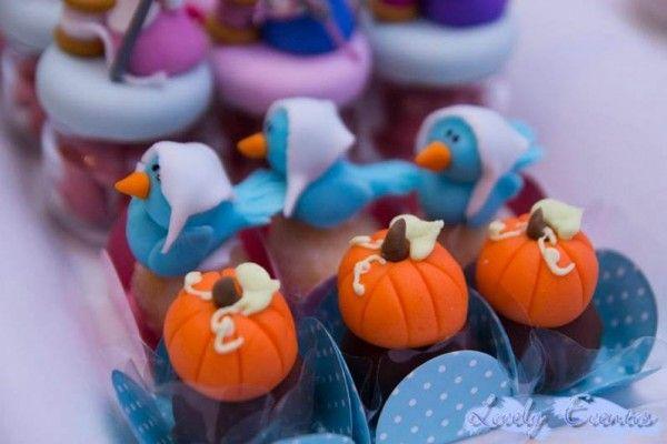 decoracao festa cinderela; mesa doces cinderela