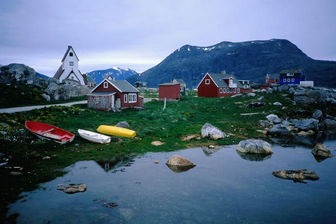 Greenland, cold but looks worth the trip!