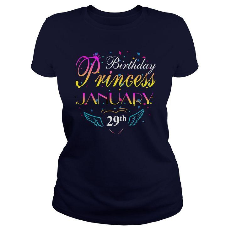 January 29 birthday Princess T-shirt,Birthday Princess January 29 shirts,January 29 birthday Princess T-shirt,Birthday Princess January 29 T Shirt,Princess Born January 29 Hoodie Vneck