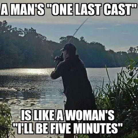 "So we say never believe ""last cast"", haha"
