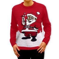 Martini z #Mikołajem? Poczucie humoru potrzebne jest nie tylko w #święta. To na pewno #prezent dla wybranych. http://swetryswiateczne.pl/pl/