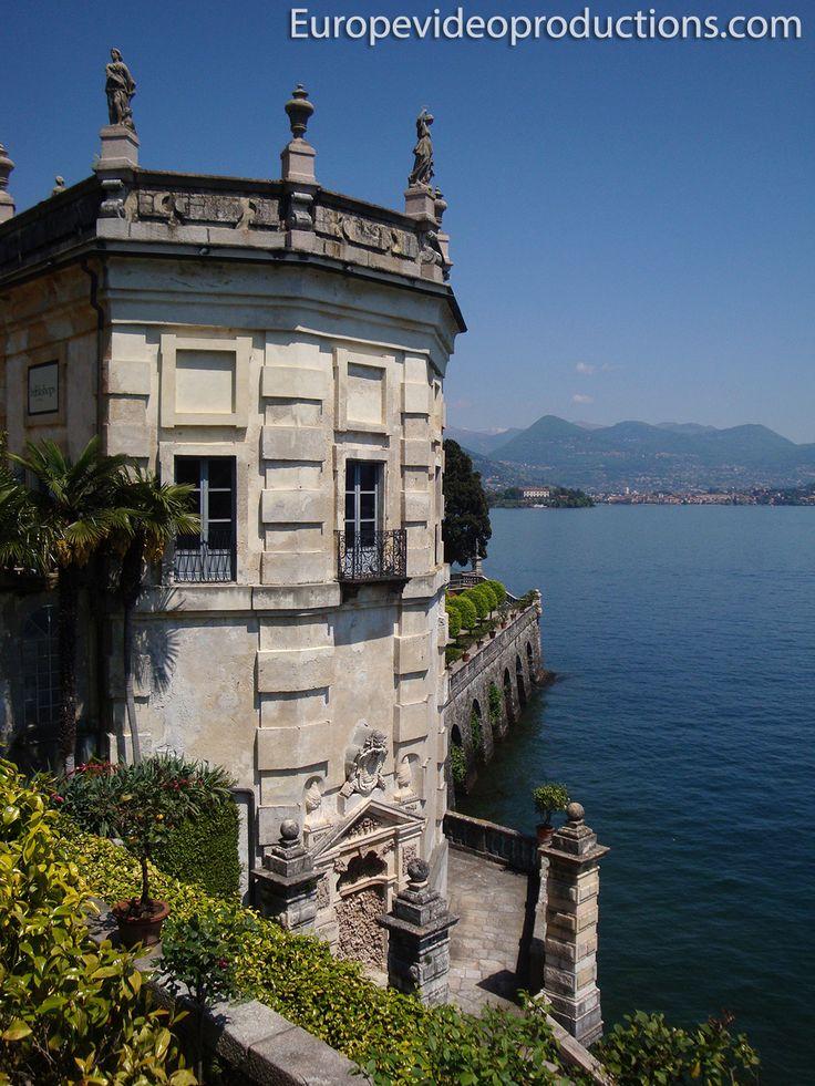Isola Bella en Lago Maggiore en Italia