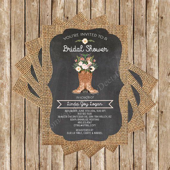 Rustieke schoolbord jute Boot boeket bruids door SavvyDeetsDesigns