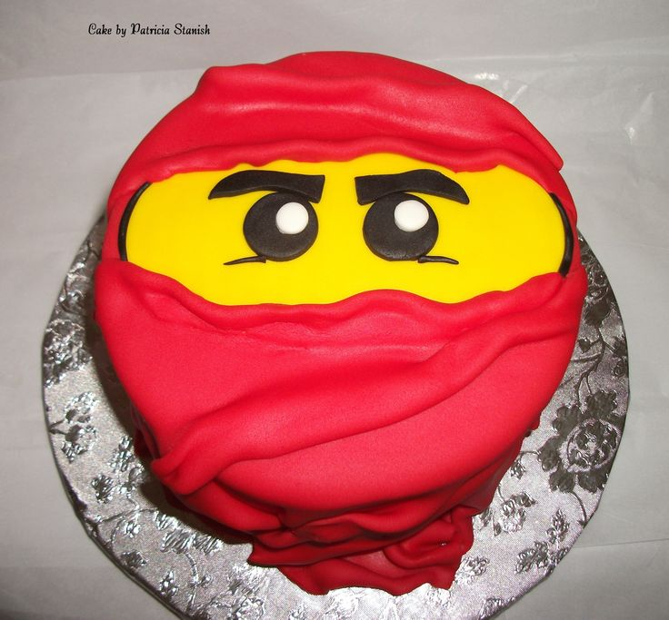 Ninjago cake!