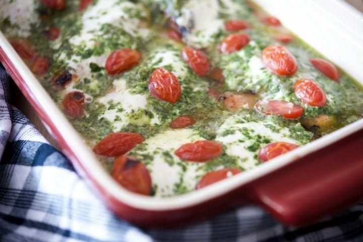 Chicken Margherita (Olive Garden Copycat)