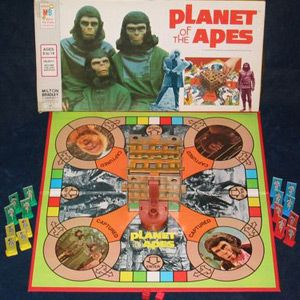 Planet of the Apes Board Game. Who doesn't like Planet of the Apes?
