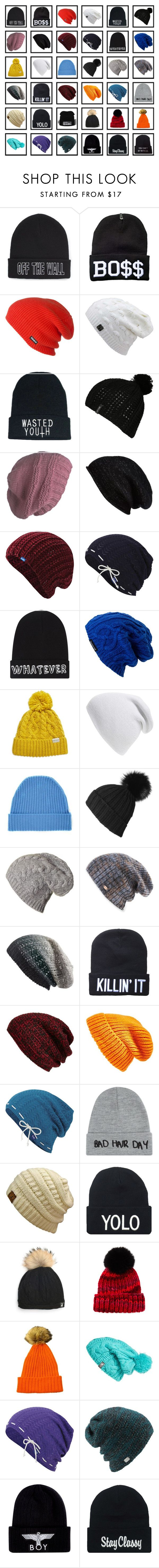 """Beanies"" by black-and-blue-girl ❤ liked on Polyvore featuring Vans, ThirtyTwo, Billabong, Laundromat, Halogen, Keds, Local Heroes, Spacecraft, Rella and Phase 3"